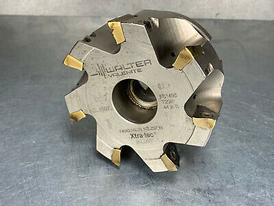 """Walter 4"""" Indexable Should Mill Face Milling Cutter F4042.UB38.102.Z07.16"""