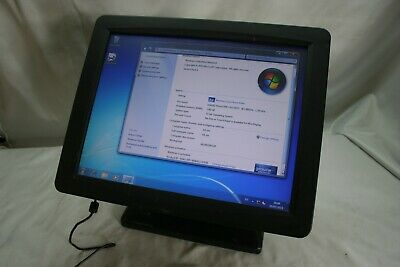"Unbranded "" High Spec ""  EPOS pos terminal 15"" Touch Screen system (win7)"