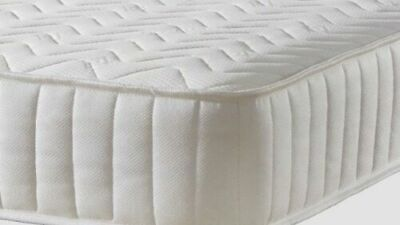 Single Memory Foam and Spring Quilted Budget Mattress 3ft 90cm X 190cm