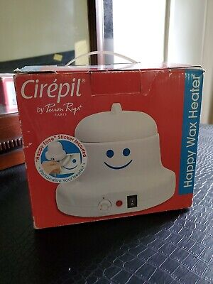 Cirepil Happy Wax Heater for 14 oz wax tins. BONUS 50 protective rings included