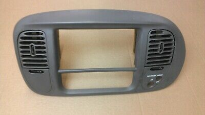 99-03 FORD F150 Front Center Dash Climate Radio A/c Bezel