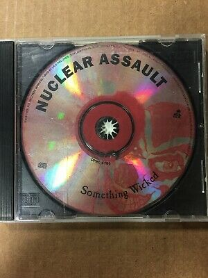 Nuclear Assault : Something Wicked PROMO (CD, 1993, IRS Records DPRO-6705
