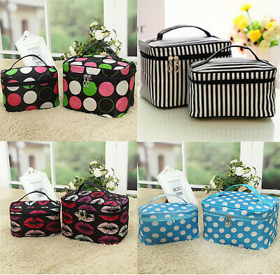 Women Storage Bag Multi-function Cosmetic Pouch Make up Toiletry Case Organizer
