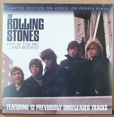 The Rolling Stones – Live At The BBC...And Beyond - Limited to 500 Purple Mint
