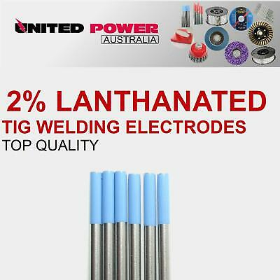 3pc 1.6mm X 150mm 2% Lanthanated Tungsten TIG Welding Electrode