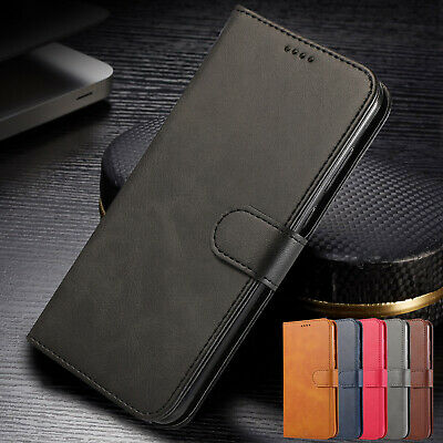 For iPhone XS Max Case XR 8 Plus 7 6s Deluxe Magnetic Leather Wallet Stand Cover