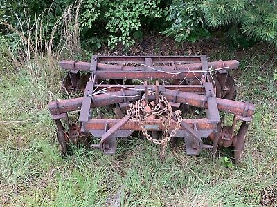 Disk Harrow 3-Point Hitch, 6.5 Foot Disc Plow, Good Condition Used