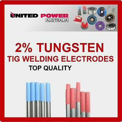 2% Lanthanated  2% Thoriated  Tungsten TIG Welding Electrode