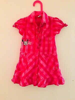 Pink Matalan Disney Minnie Mouse Dress Age 2-3 Years (2159A)