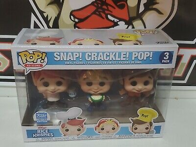 Funko POP Ad Icons 3 Pack Rice Krispies Snap Crackle Pop