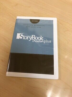 CREATIVE MEMORIES STORYBOOK Creator Plus 2 Disk Software for Windows