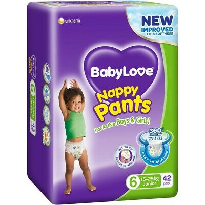 BabyLove Jumbo Nappy Pants 15-25kg Junior 42 Pack