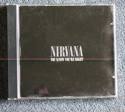 Nirvana 'You Know You're Right' one-track promo CD, 2002, mint.