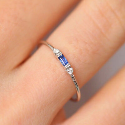 Tiny diamond 14k gold exquisite small ladies pieces of fresh ring engagement 3