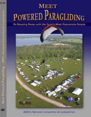Meet Powered Paragliding Amusing Romp with the Sports Most Passionate People DVD