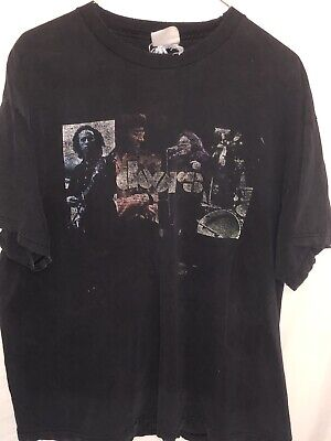 Vintage The Doors Size Tennessee River Black T Shirt Jim Morrison Faded No Size