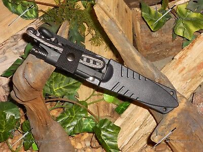 Harpoon/Spear tip/Knife/Bowie/Flint/Full tang/Survival/Combat/Hunting/P550 wrap