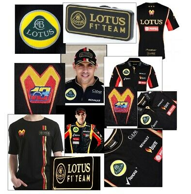 VALUE! POLO 2 T-SHIRTS CAP BADGE Lotus Pastor Maldonado Formula One F1 AU