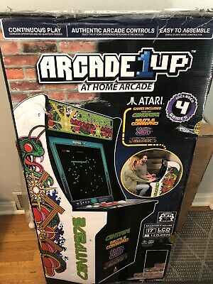 ARCADE 1UP VIDEO Game LCD game Centipede Machine 4 in 1 100-240V NEW