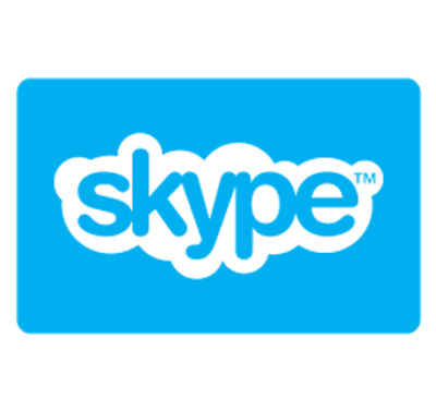 Skype Gift Card $10 or $25 - Email Delivery