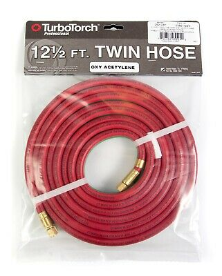 252-03P TurboTorch 0386-1094 Oxy-Acetylene Twin Hose,12 1/2 ft.