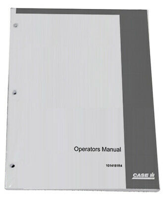 CASE IH 4890 Owners Operators Instruction Manual