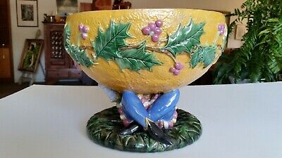 George Jones  Half Orange Punch Bowl circa 1875.