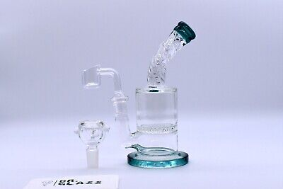 Hookah Glass Water Pipe 8'' w Honeycomb Filter Bong Assorted Colors(US Ship