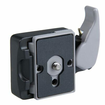Black Camera 323 Quick Release Adapter with Manfrotto 200PL-14 Compat Plate #Z