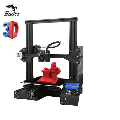 New Creality Ender 3 Ender 3 Pro 3D Printer Glass Bed 220x220x250mm 2Pcs PLA Lot