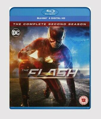 The Flash: The Complete Second Season Blu-ray Comic Book/Action/Adventure Series