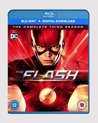 The Flash: The Complete Third Season Blu-ray Comic Book/Action/Adventure Series