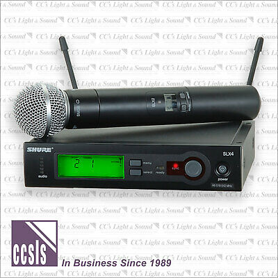 Shure SLX24 Pro Wireless Microphone System with SM58 Handheld Microphone