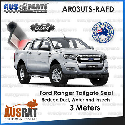 Ford Ranger Tailgate Seal Kit - UV, OIl & Fuel Proof Rubber - 3M Adhesive