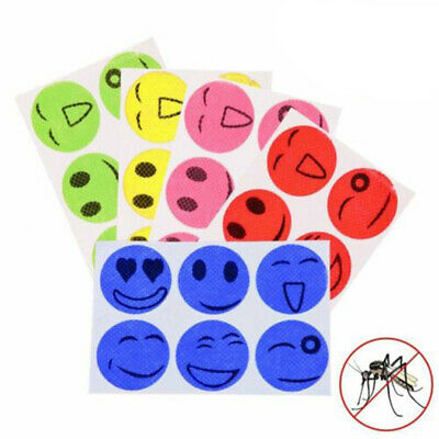 120pcs Natural Mosquito Repellent Sticker Anti-Toxic Patches Insect Bug Repeller