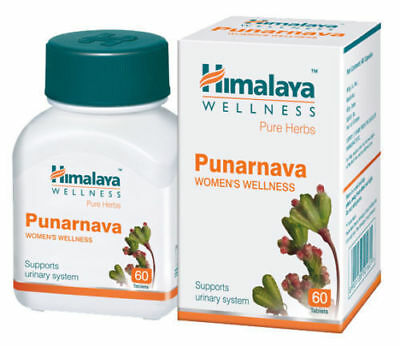 Herbal Punarnava Herb 10 X 60 Tablets Controls Urinary Tract Infections