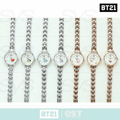 BTS BT21 Official Authentic Goods Metal Watch Ver3 by OST + Tracking Number