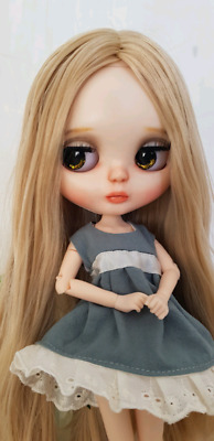Bronte Blythe ooak custom doll icy barbie hand made collectable sale blonde