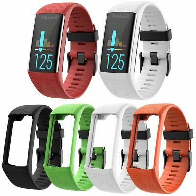 Replacement Soft Silicone Strap Wristwatch Band for Polar A360 A370 GPS Bracelet