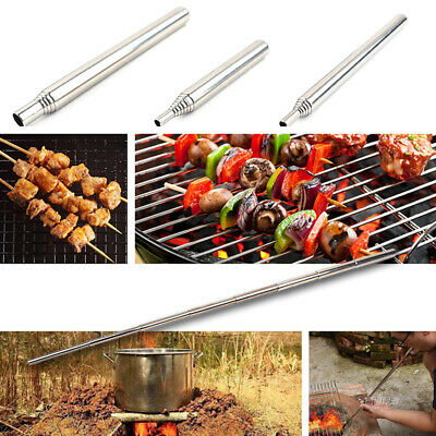 Outdoor Activity Camping Fire Maker Retractable Survival Blow Sticks Tube Tools