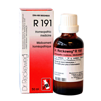 Dr. Reckeweg R191 Drops 50ml Homeopathic Remedies