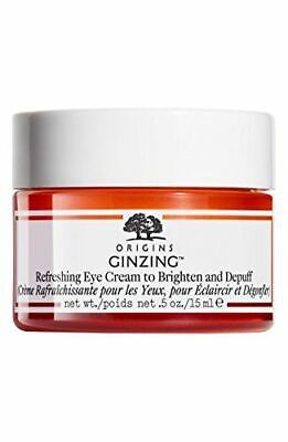 GinZing by Origins Refreshing Eye Cream To Brighten And Depuff 15ml New