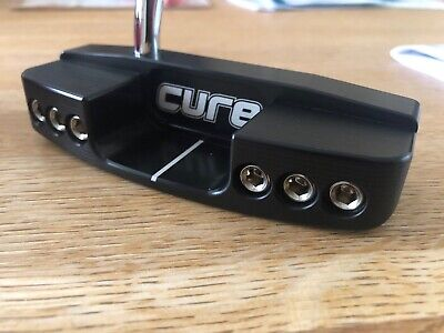 """Cure Cx2 Putter 33"""" Brand New - Rrp £249.95"""