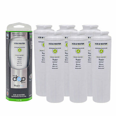 1/2/3/4/6Pack-EDR4RXDI-Drop4-UKF8001-Refrigerator-Water Filter-Replacement