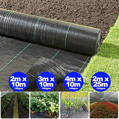 Heavy Duty Weed control fabric ground cover membrane landscape mulch Garden UK