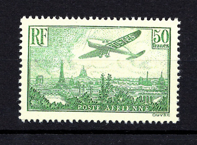 Pièce d'Attente du PA n°14 = 50 Francs Avion survolant Paris