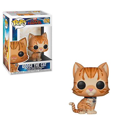 FUNKO POP Goose the Cat Vinyl Captain Marvel N 426 idea regalo