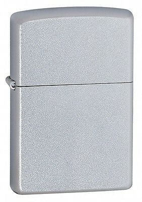 Zippo 205, Satin Chrome Finish Lighter, Full Size