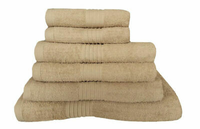 100% Egyptian Cotton Towels Set Beige Bath Sheet Hand Towels Large Bathroom Bale