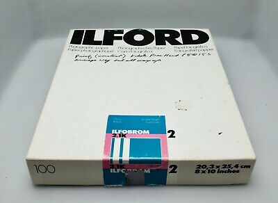 Ilford Ilfobrom 2.1K Grade 2 Photographic Paper Double Weight
